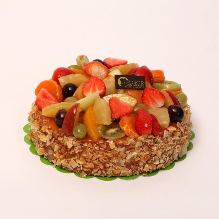 Vers fruit op roomtaartje van Bakkerij Floor van Lieshout