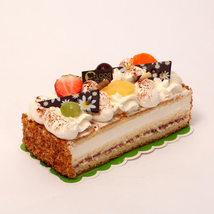 Slagroom cake van Bakkerij Floor van Lieshout