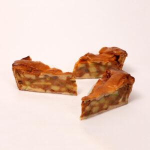 Appelpunten van verse appels van bakkerij floor van lieshout