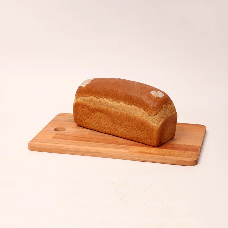 Zoutloos bruin brood zonder jodium van bakkerij floor van lieshout