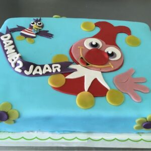 Favoriete Jokie en Jet taart – Bakker Floor van Lieshout #RY34